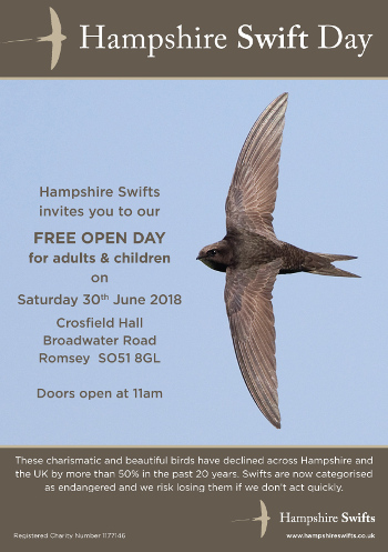 Hampshire Swift Day